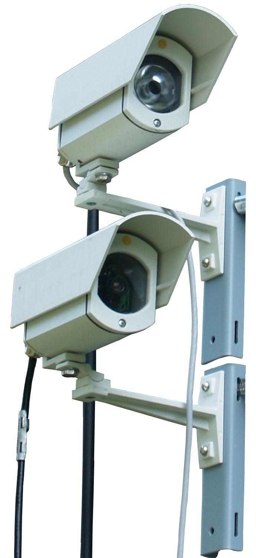 схема соединения элементов систем видеонаблюдения